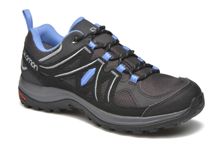 Chaussures de sport Salomon Ellipse 2 GTX W Gris vue détail/paire