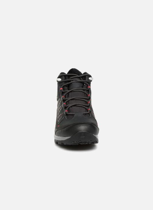 Chaussures de sport Salomon Kaïna CS WP 2 Noir vue portées chaussures