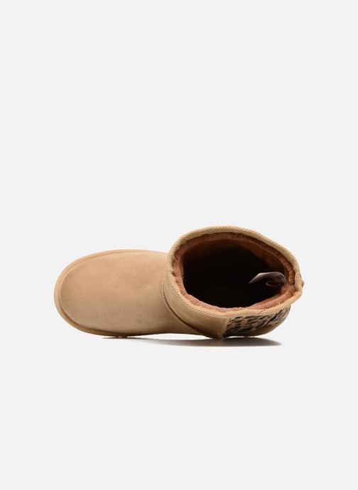 Stiefel Pepe jeans Angel beige ansicht von links