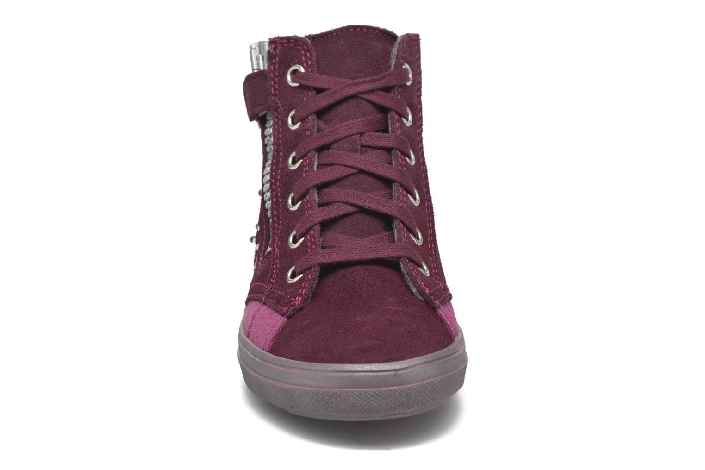 Baskets Richter Angelika Bordeaux vue portées chaussures