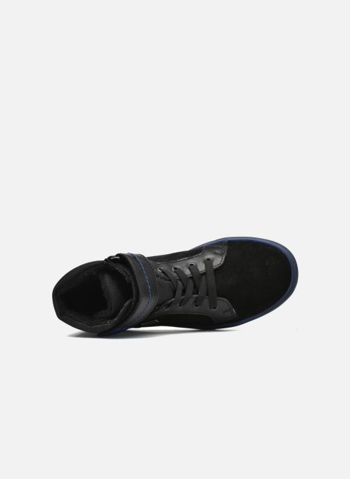 Baskets Richter Benno Noir vue gauche