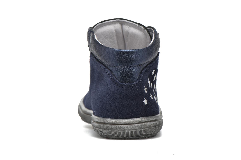 Chaussures à lacets Richter Bettina Bleu vue droite