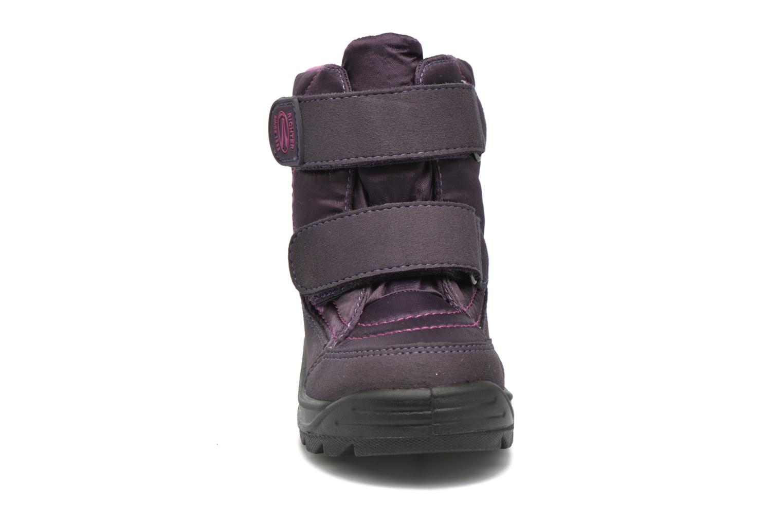 Bottes Richter Katrin Violet vue portées chaussures