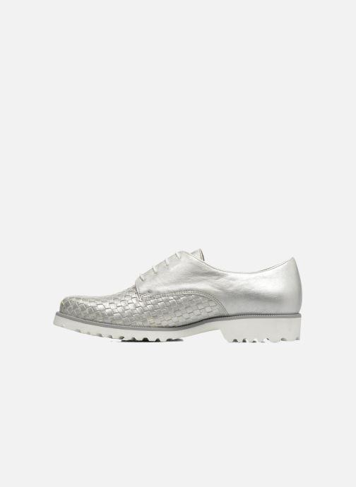 Chaussures à lacets Gabor Mariam Argent vue face