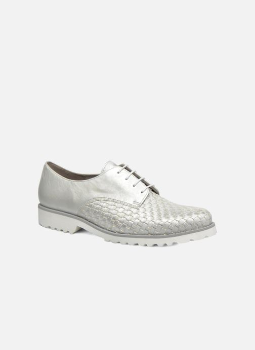 Chaussures à lacets Gabor Mariam Argent vue détail/paire