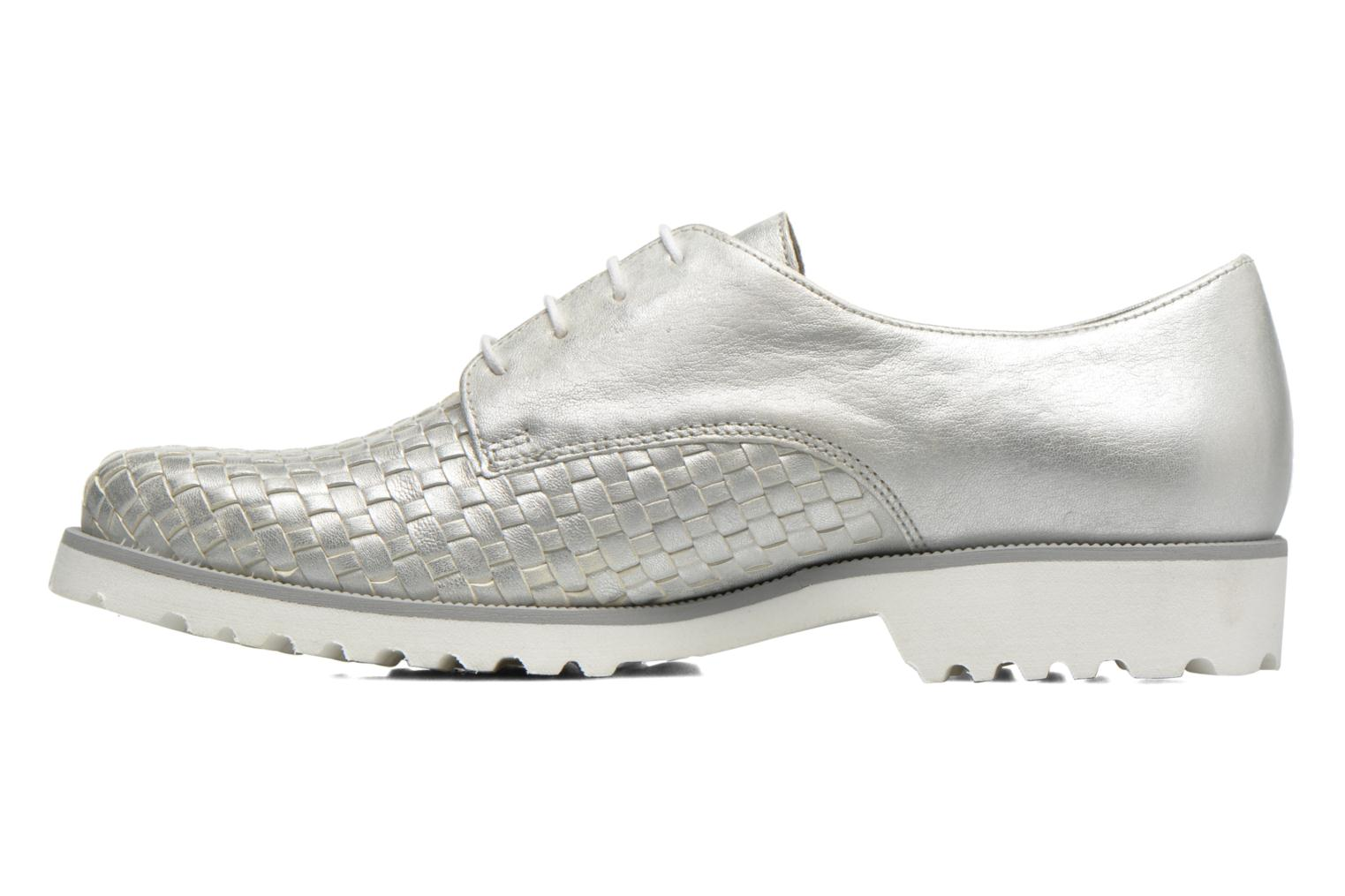 Lace-up shoes Gabor Mariam Silver front view
