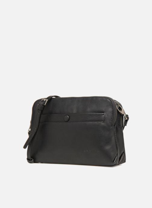 Handtaschen Sabrina Leslie Porté travers schwarz schuhe getragen