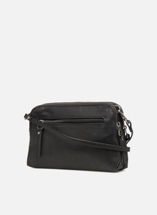 Handtaschen Sabrina Leslie Porté travers schwarz ansicht von rechts