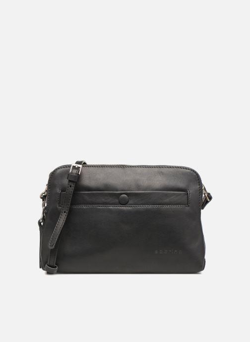 Handtaschen Sabrina Leslie Porté travers schwarz detaillierte ansicht/modell