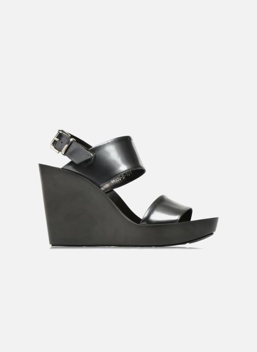 Sandales et nu-pieds Bronx Anner Gris vue derrière