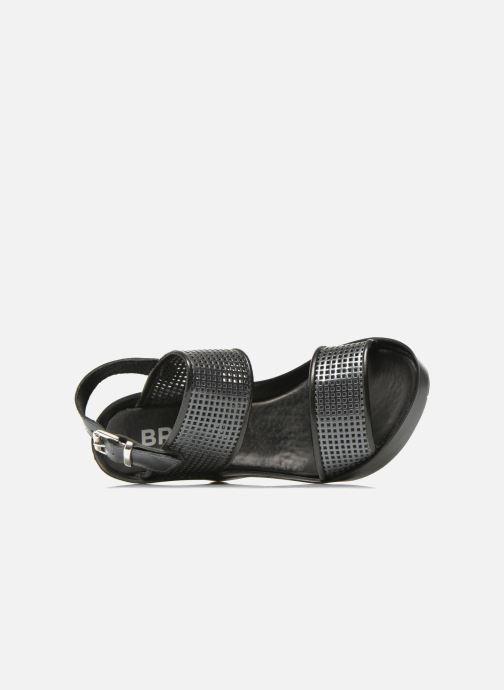 Sandales et nu-pieds Bronx Anner A Gris vue gauche