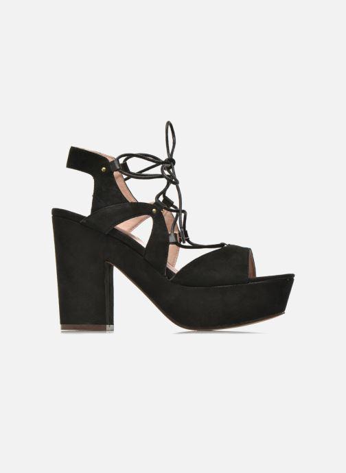 Sandales et nu-pieds Bronx Jada Noir vue derrière