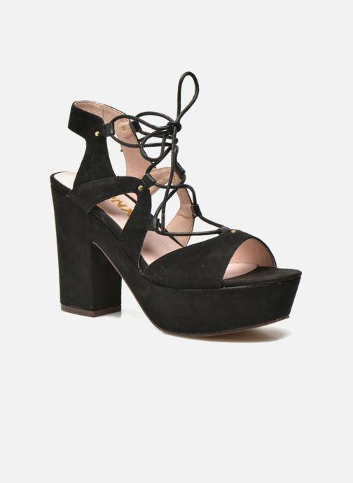 Sandales et nu-pieds Bronx Jada Noir vue détail/paire