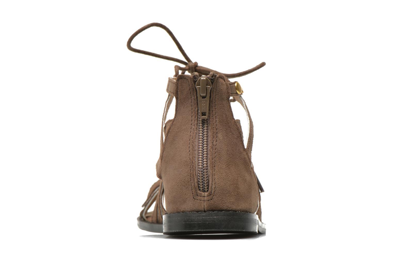 Sandales et nu-pieds Bronx Lyona Marron vue droite