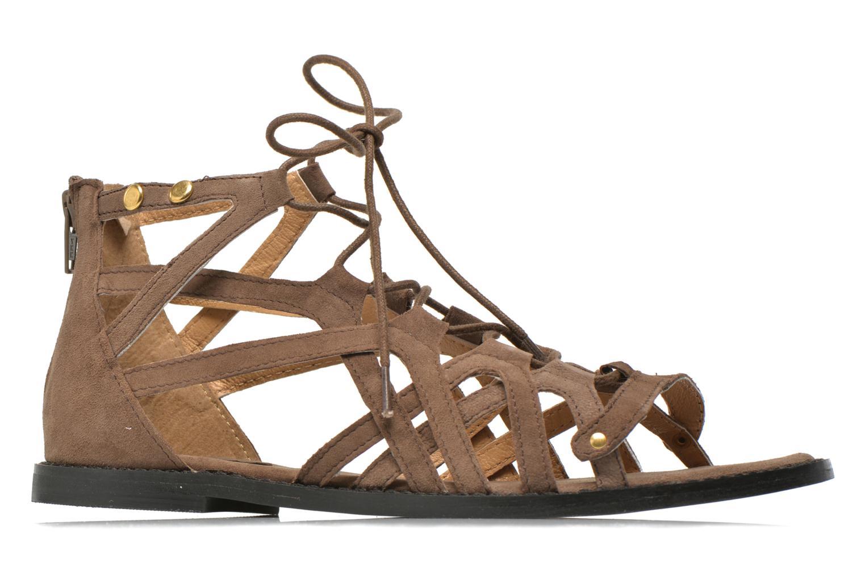 Sandales et nu-pieds Bronx Lyona Marron vue derrière