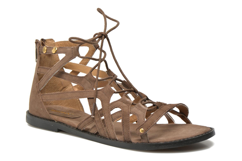 Sandales et nu-pieds Bronx Lyona Marron vue détail/paire