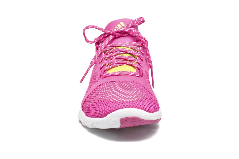 Chaussures de sport Adidas Performance Adipure Flex Rose vue portées chaussures