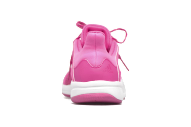 Chaussures de sport Adidas Performance Adipure Flex Rose vue droite