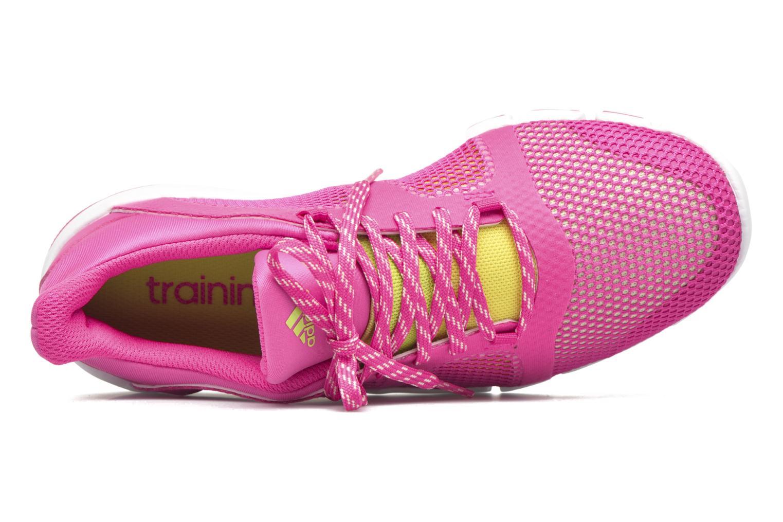 Chaussures de sport Adidas Performance Adipure Flex Rose vue gauche