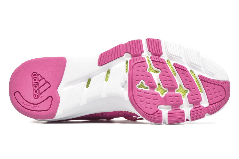 Chaussures de sport Adidas Performance Adipure Flex Rose vue haut