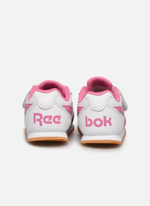 Sneaker Reebok Reebok royal cljog 2 kc weiß ansicht von rechts