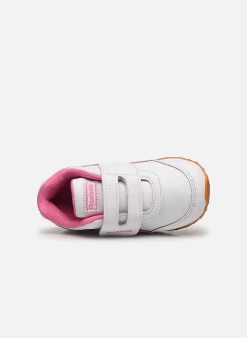 Sneaker Reebok Reebok royal cljog 2 kc weiß ansicht von links