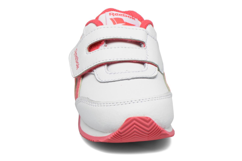 Baskets Reebok Reebok royal cljog 2 kc Blanc vue portées chaussures