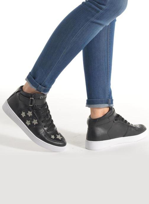 Sneakers Guess Suzy Nero immagine dal basso