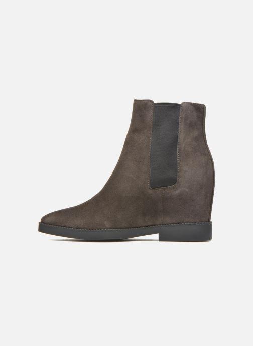 Bottines et boots Ash Gong Marron vue face