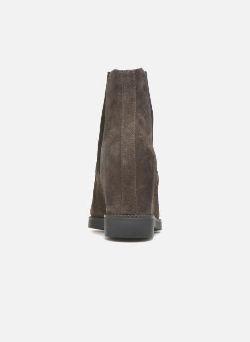 Bottines et boots Ash Gong Marron vue droite