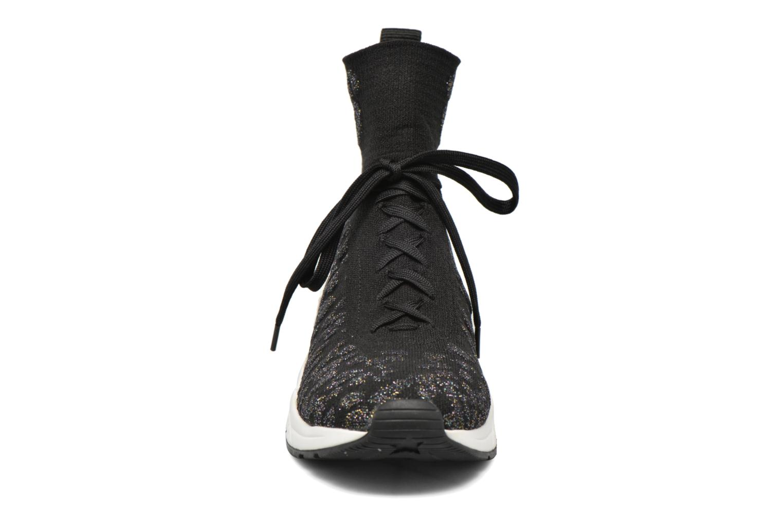 Baskets Ash Maniac Noir vue portées chaussures