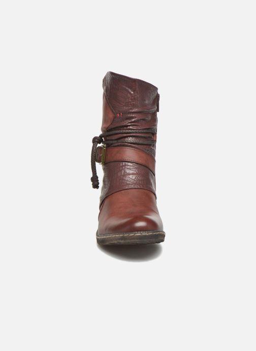 Ankle boots Rieker Annie K1480 Burgundy model view