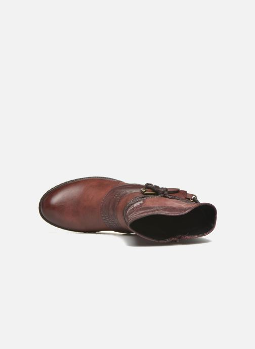 Ankle boots Rieker Annie K1480 Burgundy view from the left