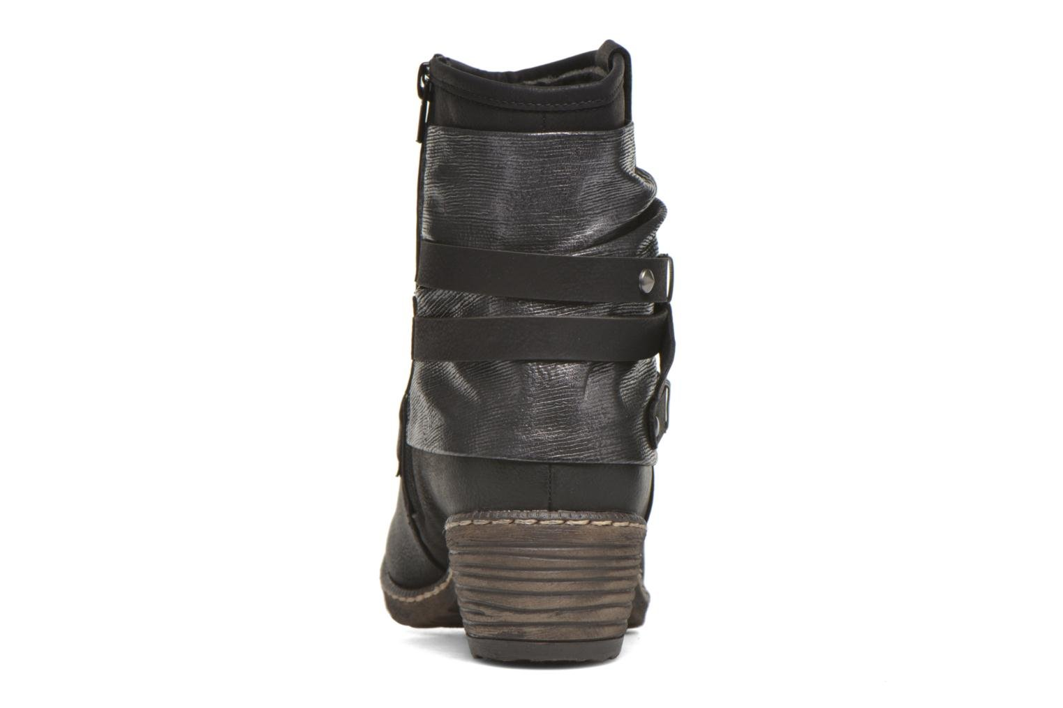 Ankle boots Rieker Gil K1483 Black view from the right