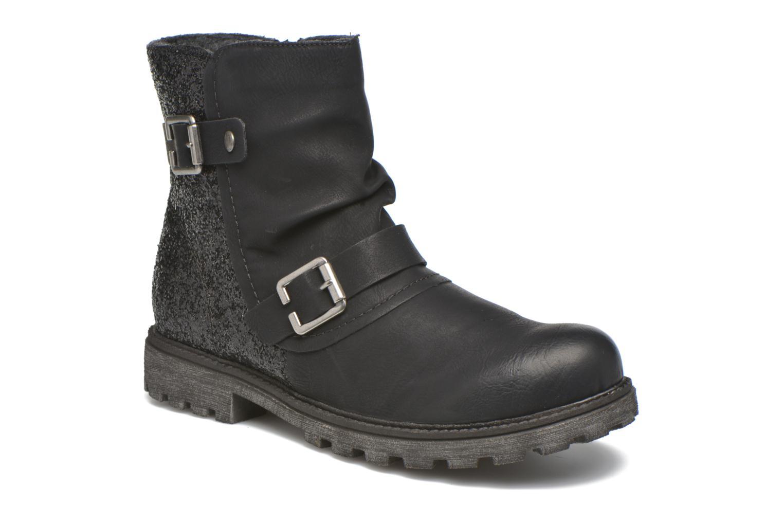 Ankle boots Rieker Eli K7477 Black detailed view/ Pair view