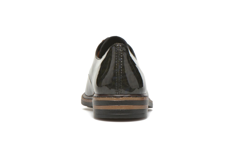 Zapatos con cordones Rieker Mud 50614 Azul vista lateral derecha