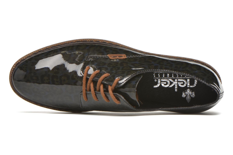 Zapatos con cordones Rieker Mud 50614 Azul vista lateral izquierda
