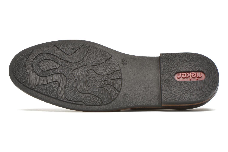 Zapatos con cordones Rieker Mud 50614 Azul vista de arriba