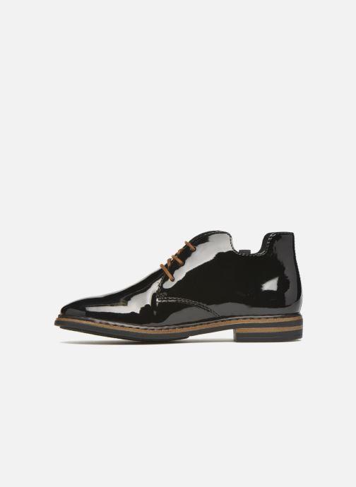 Chaussures à lacets Rieker Zoe 50634 Noir vue face