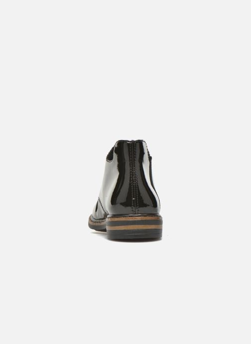Chaussures à lacets Rieker Zoe 50634 Noir vue droite