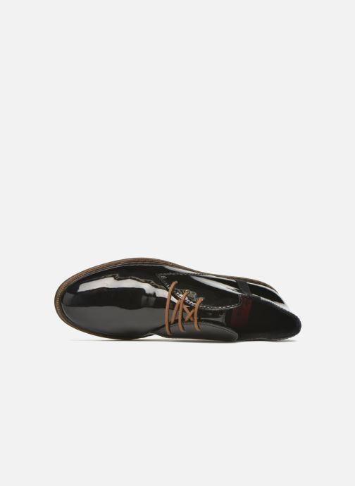 Chaussures à lacets Rieker Zoe 50634 Noir vue gauche