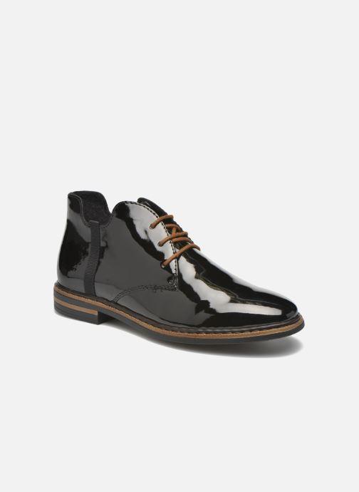 Snøresko Rieker Zoe 50634 Sort detaljeret billede af skoene