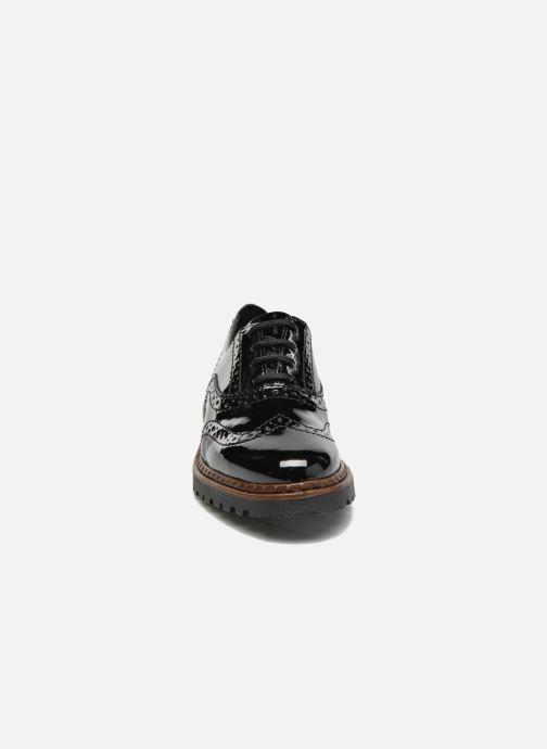 Lace-up shoes Rieker Lisa 54812 Black model view