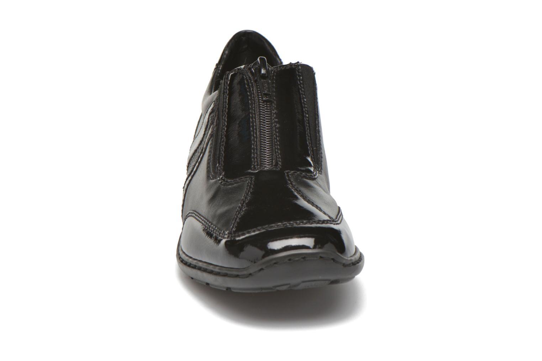 Mocassins Rieker Alix 58364 Noir vue portées chaussures