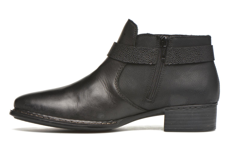 Bottines et boots Rieker Ola 73660 Noir vue face