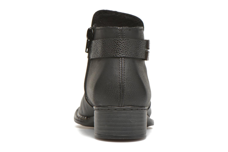 Bottines et boots Rieker Ola 73660 Noir vue droite