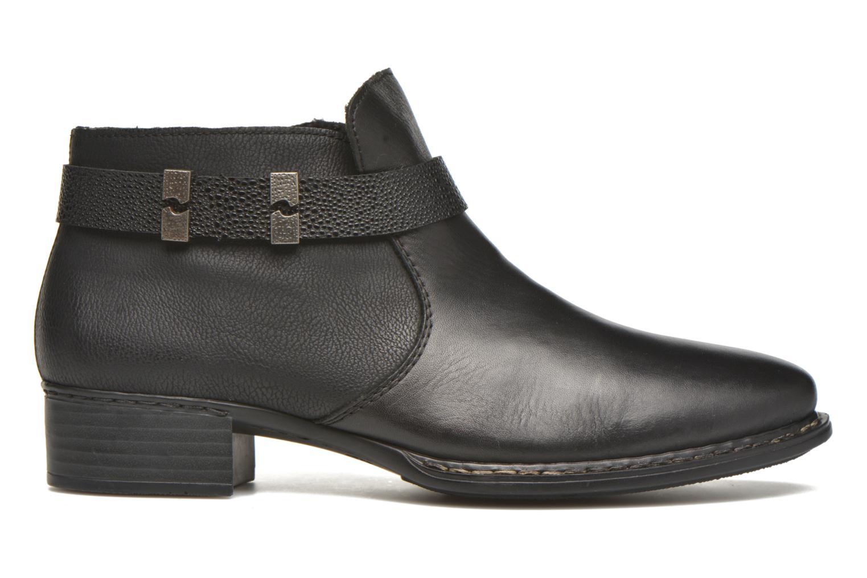Bottines et boots Rieker Ola 73660 Noir vue derrière