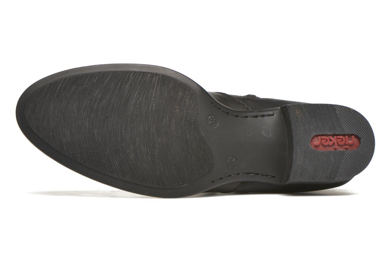 Bottines et boots Rieker Ola 73660 Noir vue haut