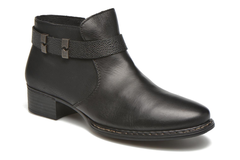 Bottines et boots Rieker Ola 73660 Noir vue détail/paire