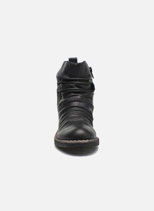 Bottines et boots Rieker Angel 74688 Noir vue portées chaussures